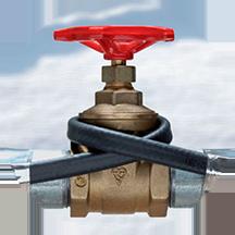 Обогрев водопровода и канализации